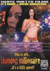 This Is Not Slumdog Millionaire - It's A XXX Spoof Dvd Cover