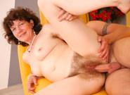 Grandma's Hairy Pussy, Scene #01