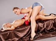 Jessie Hazel Tempts Silvia, Scene #01