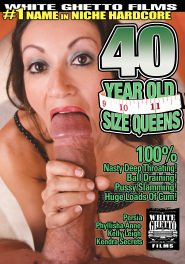 40 Year Old Size Queens DVD Cover