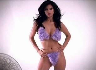 Photoshoot purple underwear, Scene #01