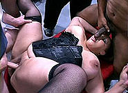 Worlds Biggest Fattest Cream Pie Gang Bang, Scene #1