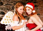 Silvia and Tarra Xmas Frolic, Scene #01