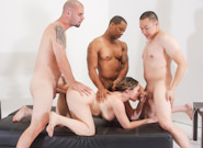 My Hairy Gang Bang #05, Scene #01