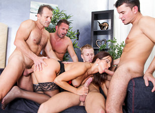 4 On 1 Gang Bangs #02, Scene #03