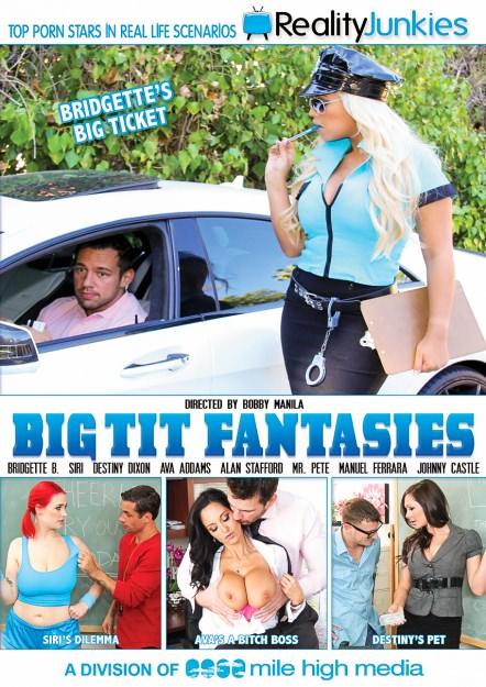 Big Tit Fantasies Dvd Cover