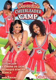 Chocolate Cheerleader Camp DVD Cover