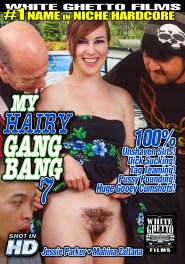 My Hairy Gang Bang #07 DVD Cover