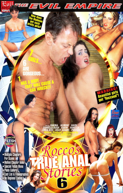 Roccos True Anal Stories 15 Adult DVD