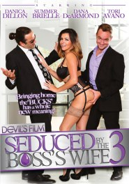 Seduced By The Bosses Wife #03 DVD Cover
