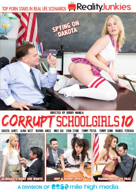 Corrupt Schoolgirls #10 Dvd Cover