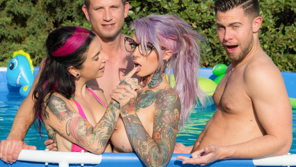 Sydnee Vicious-First Time – Joanna Angel, Sydnee Vicious