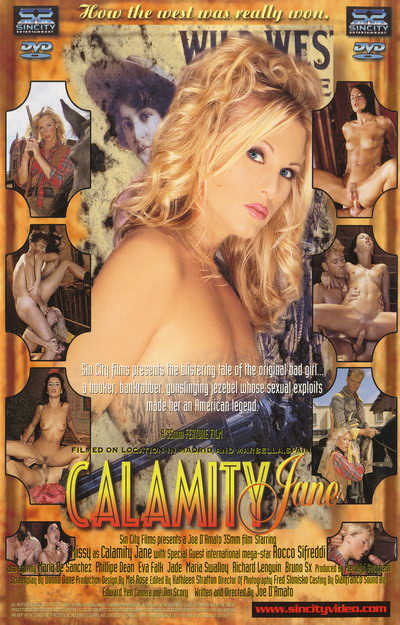 Calamity Jane Dvd Cover Front Cover Back Cover