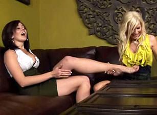 Horny Lesbians At Work #02, Scene #03