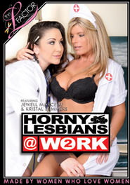 Horny Lesbians At Work #02 DVD Cover