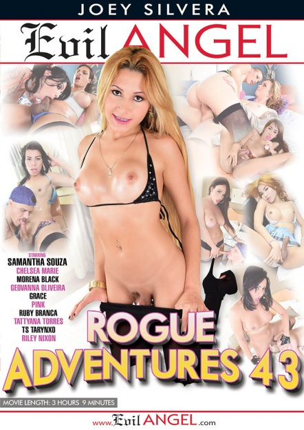 Rogue Adventures #43 Dvd Cover