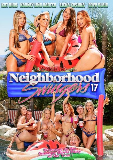 Neighborhood Swingers #17 Dvd Cover