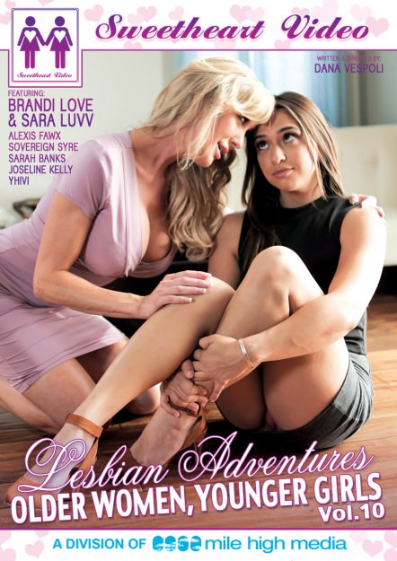 Lesbian Adventures - Older Women Younger Girls #10 Dvd Cover