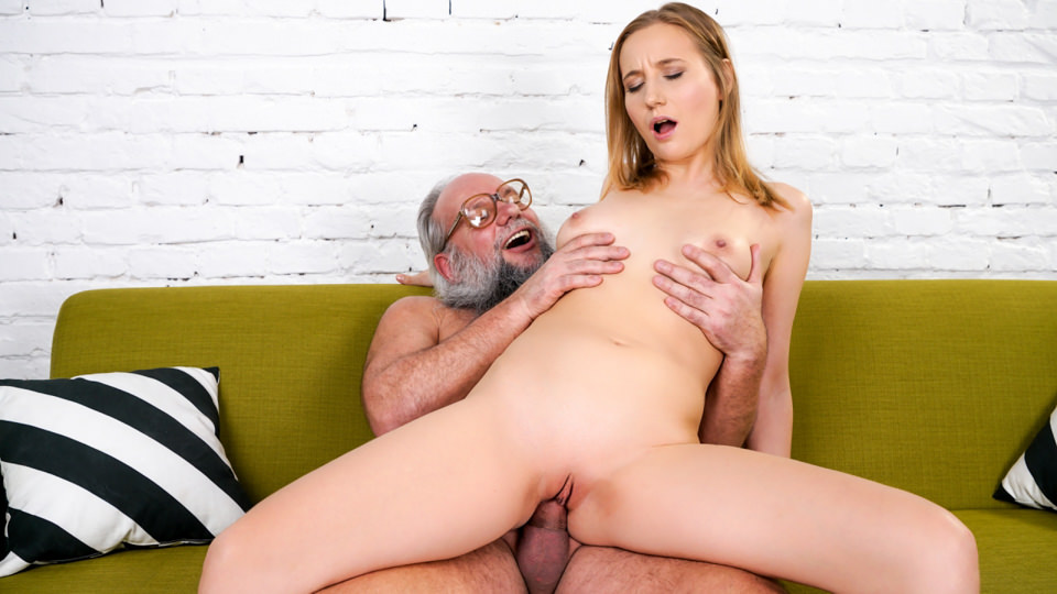 Tia Malkova's Fun With A Horny Old Man