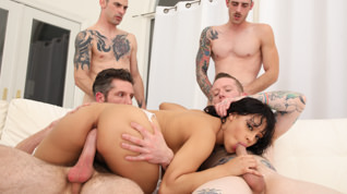 Diamond Banks Gangbang