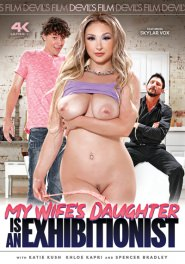 My Wife's Daughter's An Exhibitionist! Dvd Cover