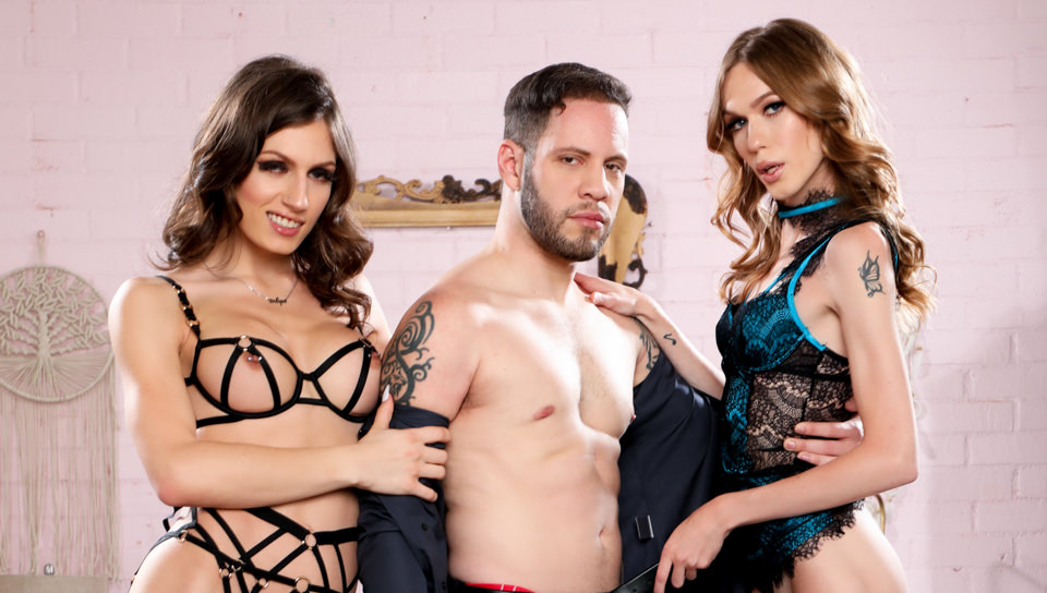 It's A Trans Sandwich (And I'm The Meat!) - Crystal Thayer, Jade Venus & Wolf Hudson