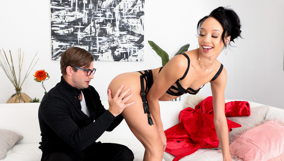 Ebony Anal Queens #02 - Alexis Tae & Nathan Bronson