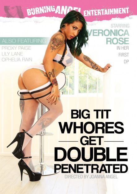 Big Tit Whores Get Double Penetrated Dvd Cover