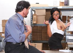 Big Tit Office Chicks, Scene #03