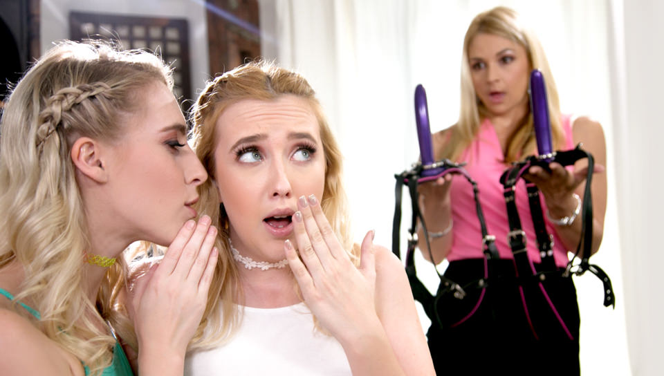 We DP'd Mom, Scene #01 with Samantha Rone, Cadence Lux, Sarah Vandella on Mommysgirl's sex channel