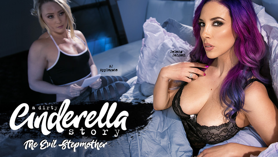 A Dirty Cinderella Story 2: The Evil Stepmother, Scene #01 with AJ Applegate, Jelena Jensen on Girlsway's sex channel