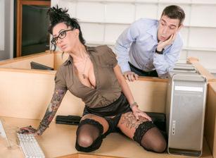 Big Tit Office Chicks #02, Scene #01
