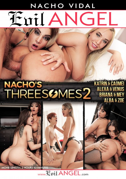 Nacho's Threesomes #02 DVD Cover