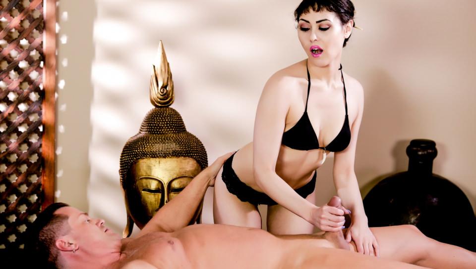 Asian Strip Mall Massage #04, Scene #02 with Audrey Noir, Eric Masterson on Devilsfilm's sex channel