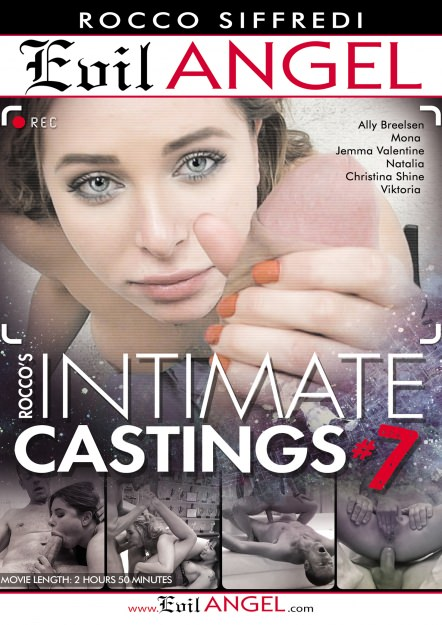 Rocco's Intimate Castings #07 DVD Cover