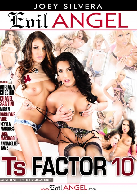 TS Factor #10 Dvd Cover