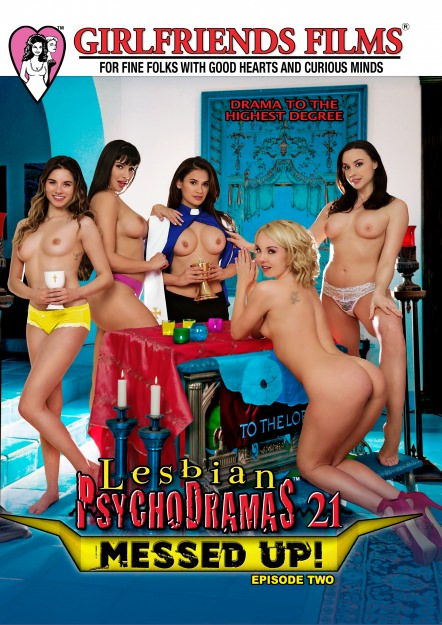 Lesbian PsychoDramas #21 - Messed Up DVD Cover