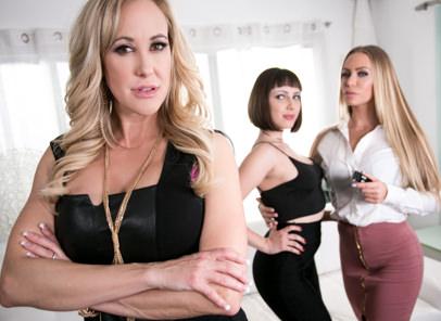 GirlsWay – Brandi Love ,Jenna Sativa , Nicole Aniston Scenes