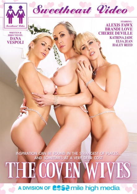 The Coven Wives Dvd Cover