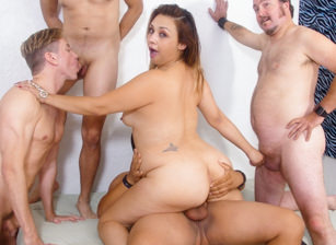 Bi Cuckold Gang Bang #13, Scene #01
