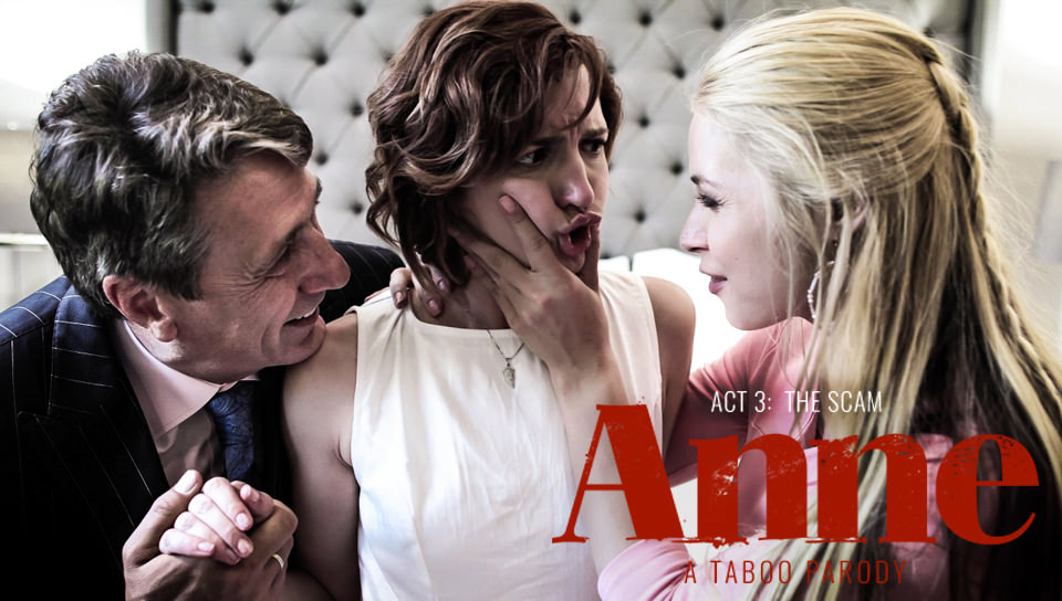 Anne – Act Three: The Scam – Elena Koshka, Casey Calvert, Sarah Vandella, Kristen Scott, Eliza Jane