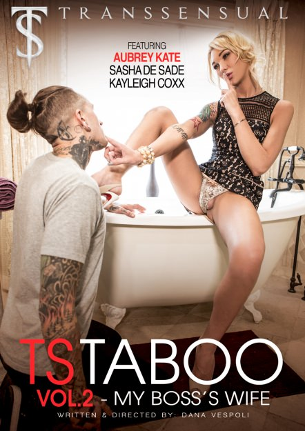 TS Taboo: My Boss's Wife Dvd Cover