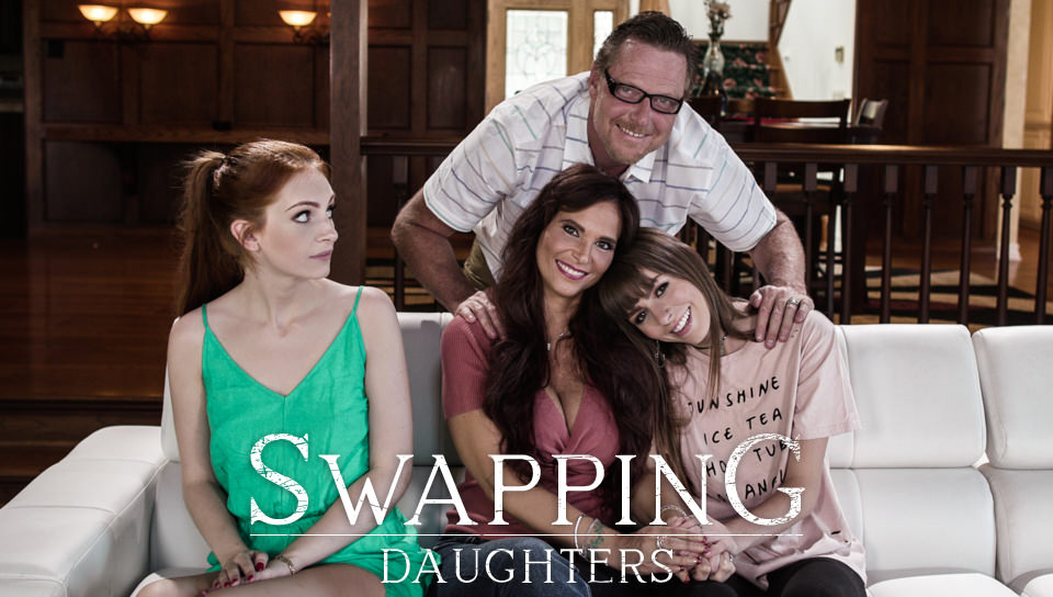 Swapping Daughters – Alex Blake, Syren De Mer