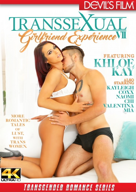 Transsexual Girlfriend Experience #07 Dvd Cover