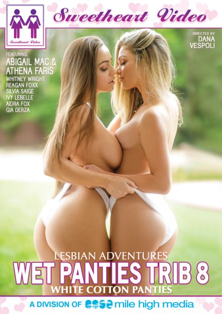 Lesbian Adventures - Wet Panties Trib #08 - White Cotton Panties Dvd Cover