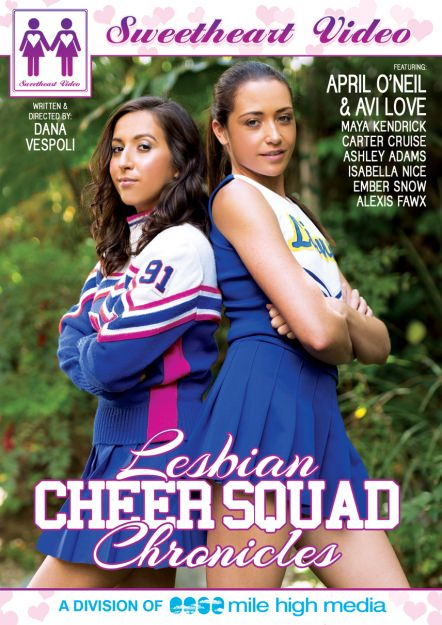 Lesbian Cheer Squad Chronicles Dvd Cover