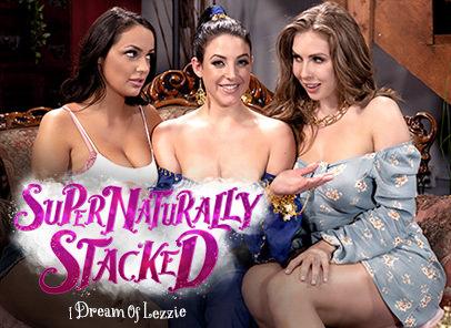 [GirlsWay] Angela White, Lena Paul, Sofi Ryan – I Dream Of Lezzie