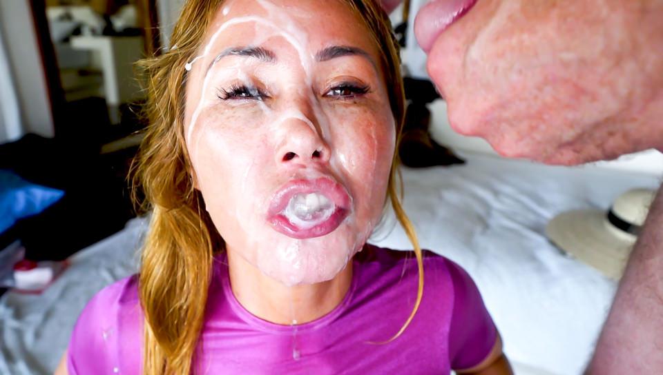 Big-Boob Asian MILF Cumslut Kianna #3