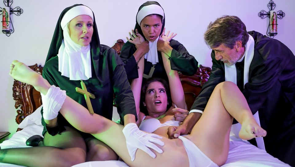 Ministry Of Evil Sc. 3: Threesome Nun