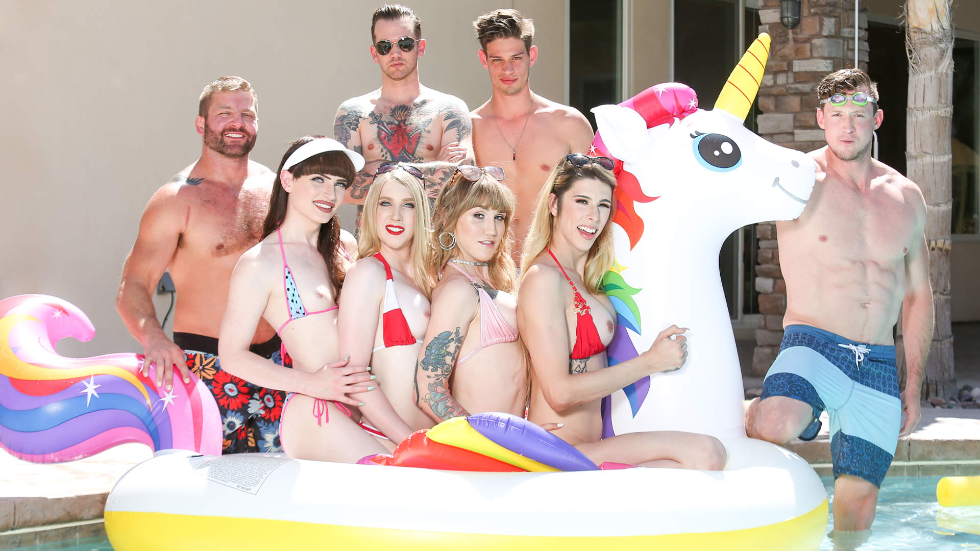 Trans Pool Party, Scene #01